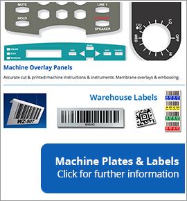 Machine Plates & Labels
